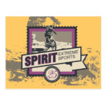 Camisetas y regalos que montan en bicicleta del postal