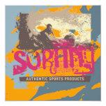 Camisetas y regalos que practican surf auténticos anuncio personalizado