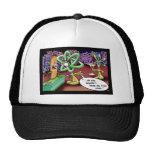 Camisetas y regalos raros divertidos del dibujo an gorras de camionero