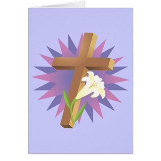 Camisetas y regalos religiosos de Pascua Tarjeta De Felicitación
