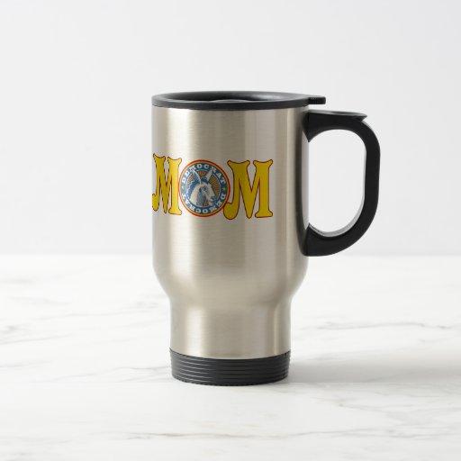Camisetas y regalos republicanos para la mamá taza de café