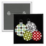Camisetas y regalos retros de las bolas del navida pin