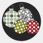 Camisetas y regalos retros de las bolas del etiqueta redonda