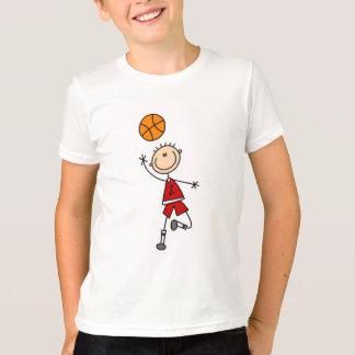 Camisetas y regalos rojos del baloncesto de los