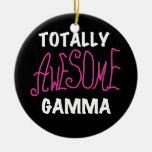 Camisetas y regalos rosados gammas totalmente impr ornamentos de navidad