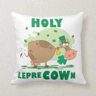 Camisetas y regalos SANTOS de LepreCOWn Cojin