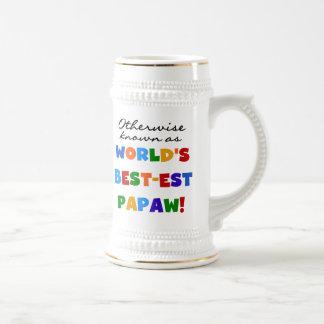 Camisetas y regalos si no sabidos del Papaw Tazas De Café