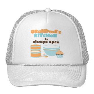 Camisetas y regalos siempre abiertos de la cocina  gorra