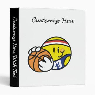 """Camisetas y regalos sonrientes del baloncesto carpeta 1"""""""