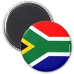 Camisetas y regalos surafricanos de la bandera iman para frigorífico