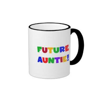 Camisetas y regalos Tía-Primarios futuros de los c Tazas De Café