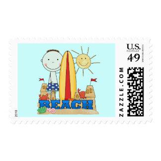 Camisetas y regalos triguenos del muchacho de la timbre postal