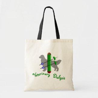 Camisetas y regalos veterinarios de la diálisis bolsa