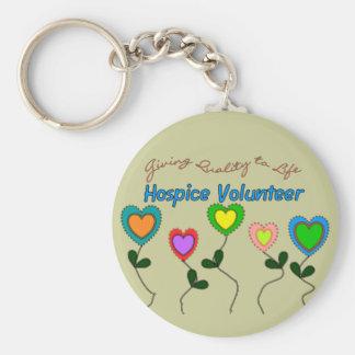 Camisetas y regalos voluntarios del hospicio llaveros personalizados