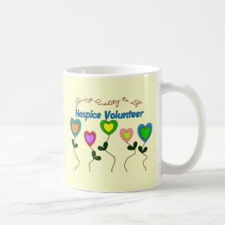 Camisetas y regalos voluntarios del hospicio taza