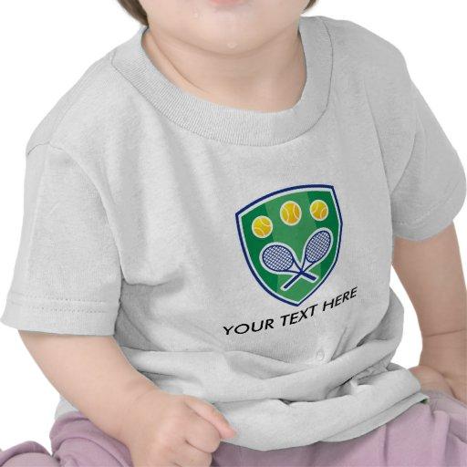 Camisetas y ropa adaptables del club de tenis