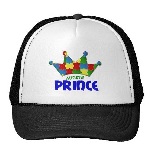 Camisetas y ropa autísticas del príncipe 1 AUTISMO Gorra