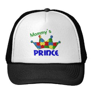 Camisetas y ropa autísticas del príncipe 3 AUTISMO Gorros Bordados