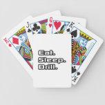 Camisetas y ropa divertidos del dentista barajas de cartas
