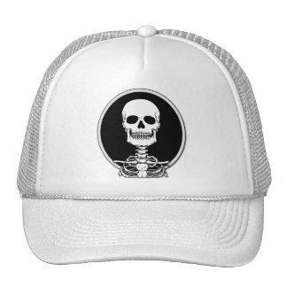 Camisetas y sudaderas con capucha esqueléticas gorra