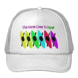 Camisetas y sudaderas con capucha Kayaking de la Gorras