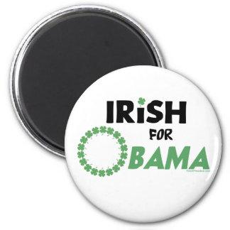 Camisetas y Swag de Obama del irlandés Imán Redondo 5 Cm