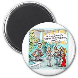 Camisetas y tarjetas divertidas etc. de los regalo imán redondo 5 cm