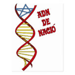 Camisetes Catalonia: DNA of it was born Postcard