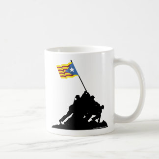 Camisetes Catalonia: Independence Iwo Jima Coffee Mug