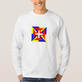 Camisia Longa Alba de Suprema Militia Christi T Shirt