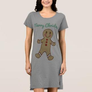 Camisón de la galleta del pan de jengibre de las vestido