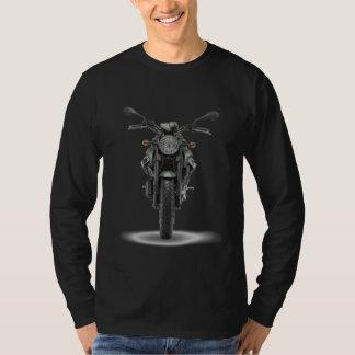 Camista Black MLonga - Custom MotoGuzzi Griso T Shirt
