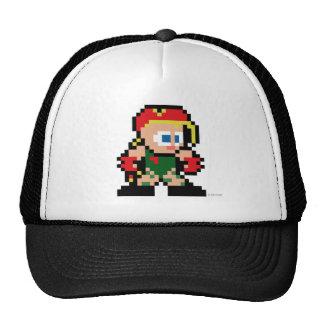 Cammy de 8 bits gorra
