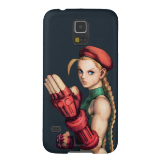 Cammy With Hand Up Galaxy S5 Cases