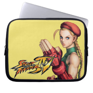 Cammy With Hand Up Computer Sleeve