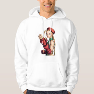 Cammy With Hand Up Hoodie