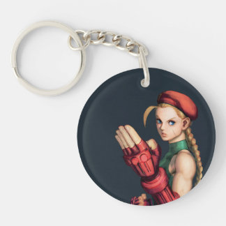 Cammy With Hand Up Keychain