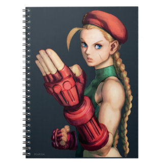 Cammy With Hand Up Spiral Notebook