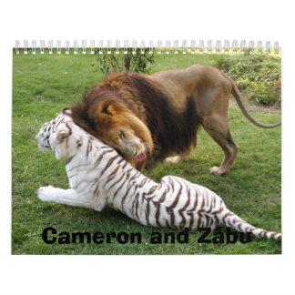 CamNzabu029, Cameron and Zabu Calendar
