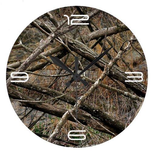 Camo adaptable relojes de pared
