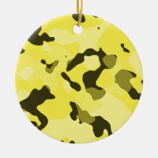 Camo amarillo limón Camuflaje Ornamente De Reyes