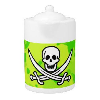 Camo amarillo verde de neón Pirata