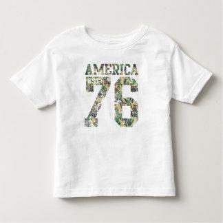 Camo America Est 1776 Toddler T-shirt