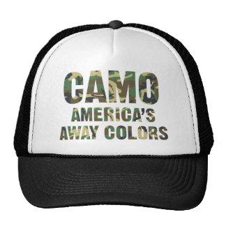 Camo America s Away Colors Trucker Hat