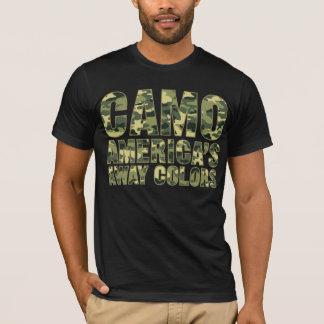 Camo America's Away Colors Shirt
