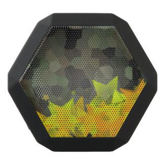 Camo and Fiery stars Black Bluetooth Speaker