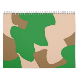 Camo Appointment book Calendar