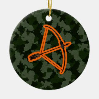Camo Archery Ceramic Ornament