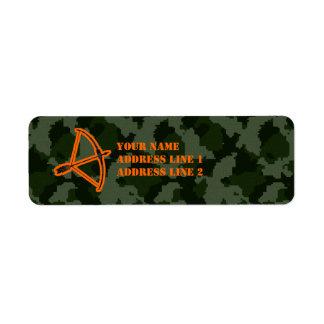 Camo Archery Label