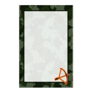 Camo Archery Stationery